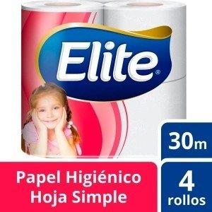 Elite Papel Higenico  S.H cadenas 4X30M